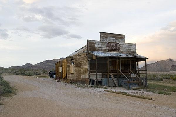 Ladenlokal in Wüste als Analogie zu Webseiten ohne SEO